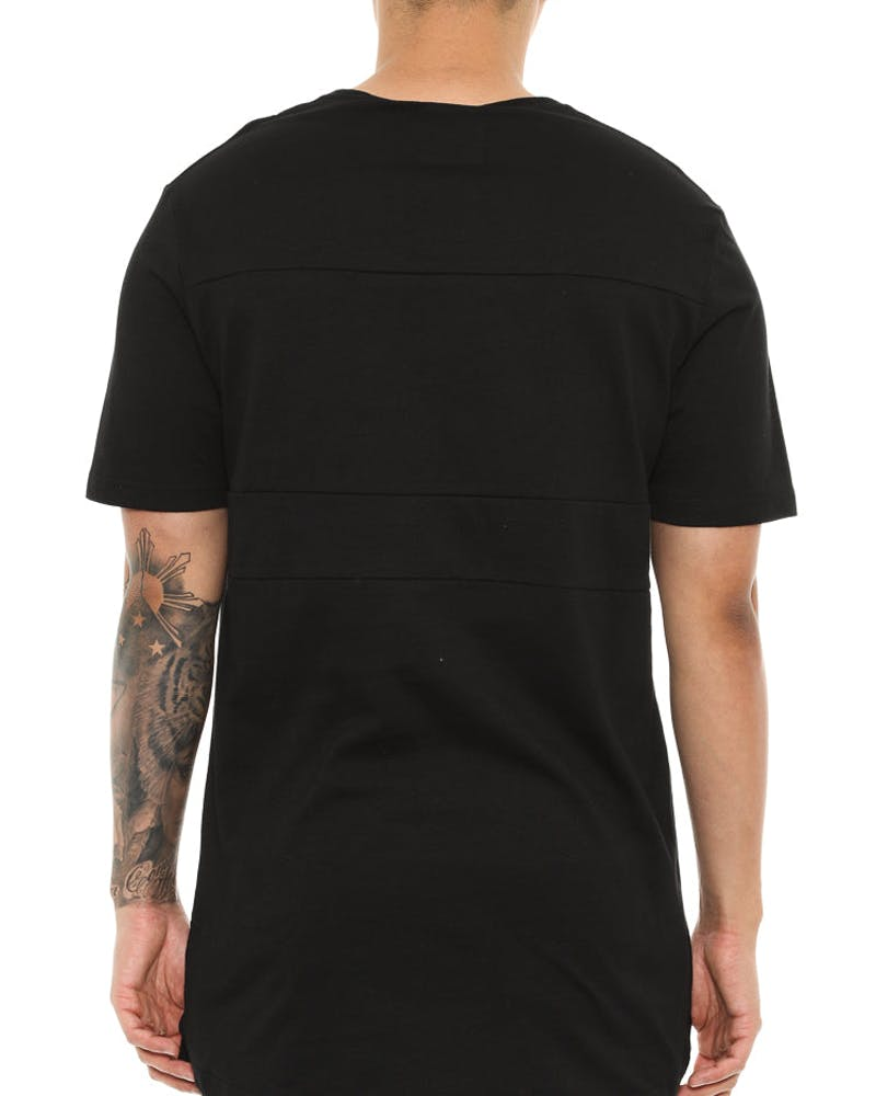 Shaun Johnson The Lined Out Tee Black