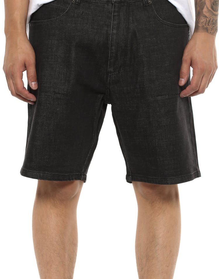 Shaun Johnson The Adam Short Black Denim