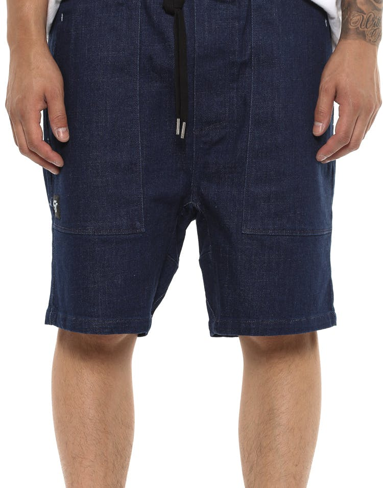 Shaun Johnson The Tee Short Indigo