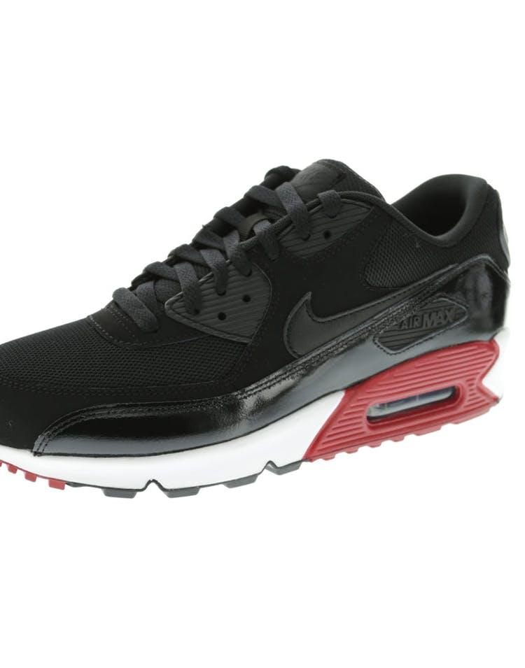 pretty nice db399 4f9f1 Nike Air Max 90 Essential Black White Red