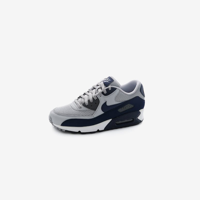 buy online 10109 2e6b3 Nike Air Max 90 Essential Grey White Navy
