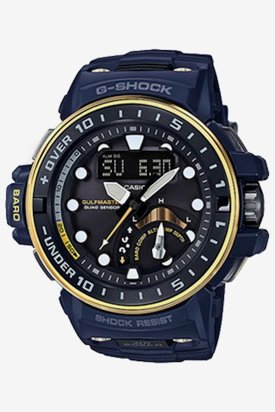 G-Shock GWNQ100NV Gulfmaster Navy/Gold
