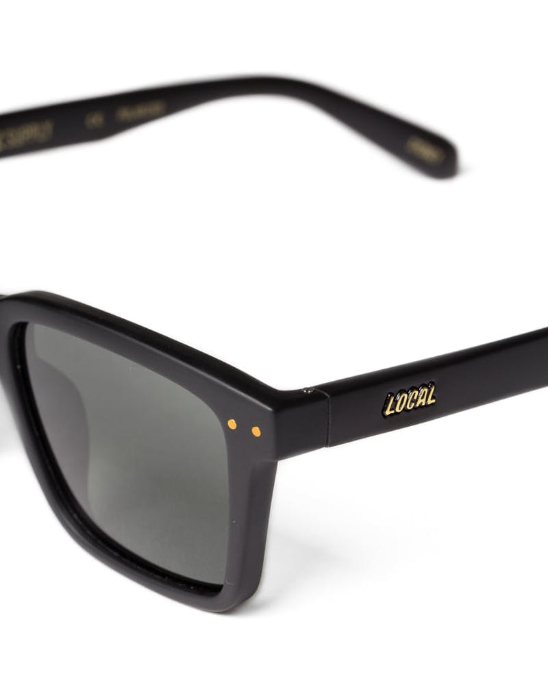 Local Supply Coast Sunglasses Matte Black