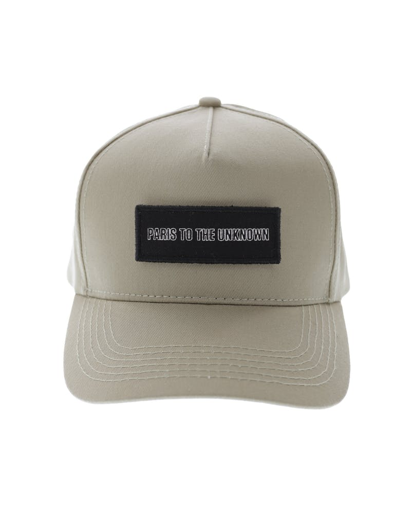Carré Longitude Patches Strapback Stone