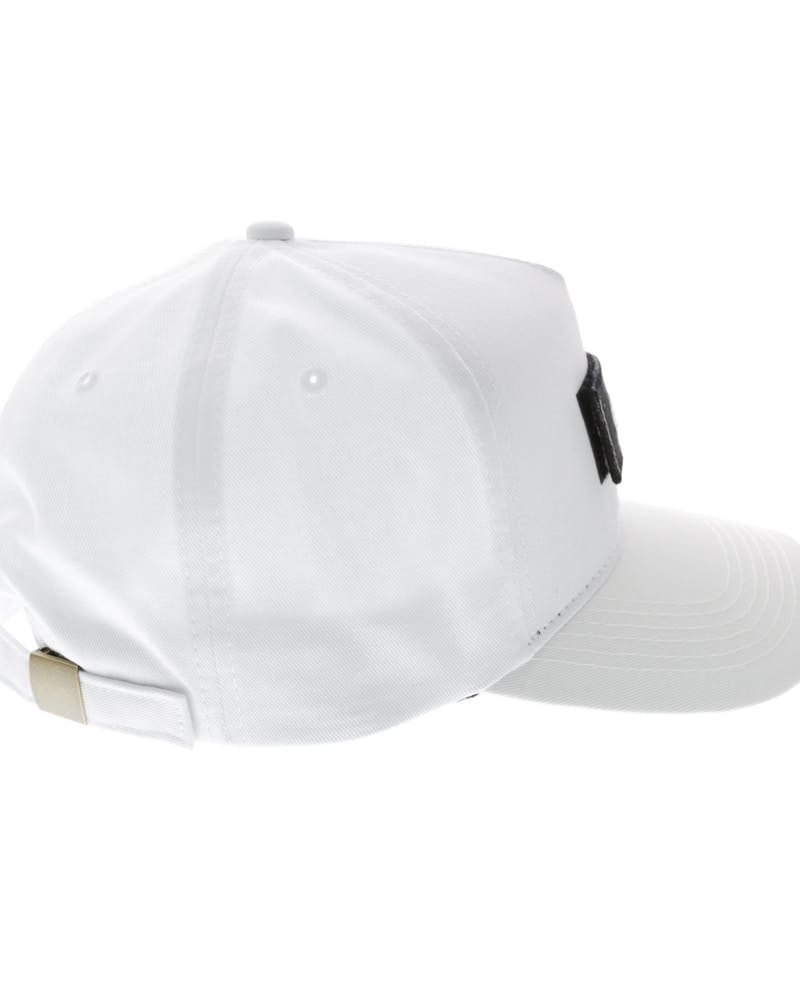 Carré Longitude Patches Strapback White