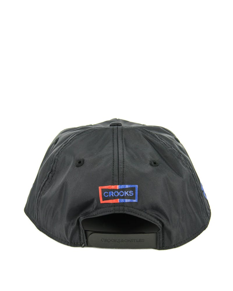 Crooks & Castles USCC Racing Snapback Black
