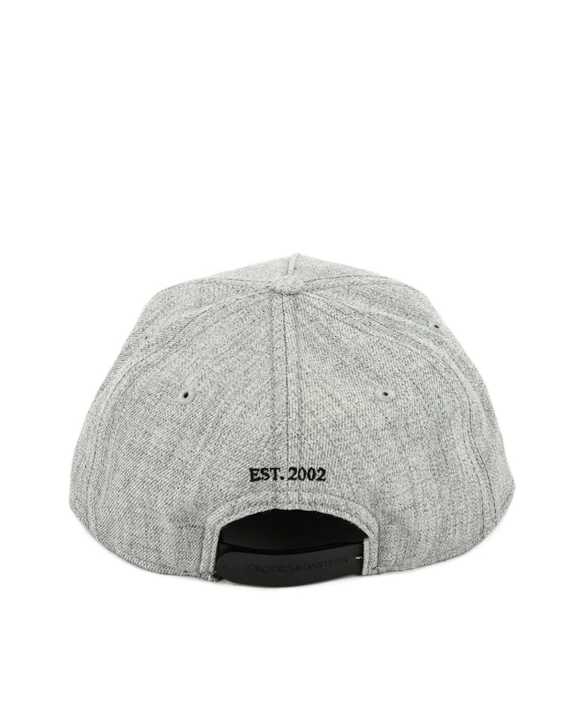 Crooks & Castles Timeless Snapback Grey/Black