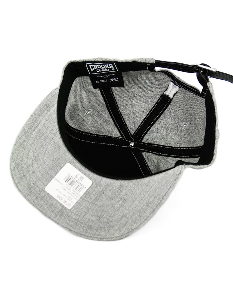 Crooks & Castles Thuxury Chain Strapback Grey/Silver