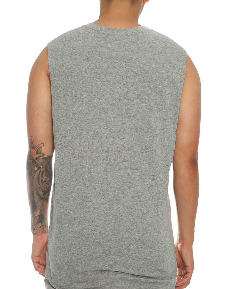 Goat Crew Fake Love Muscle Tee Grey