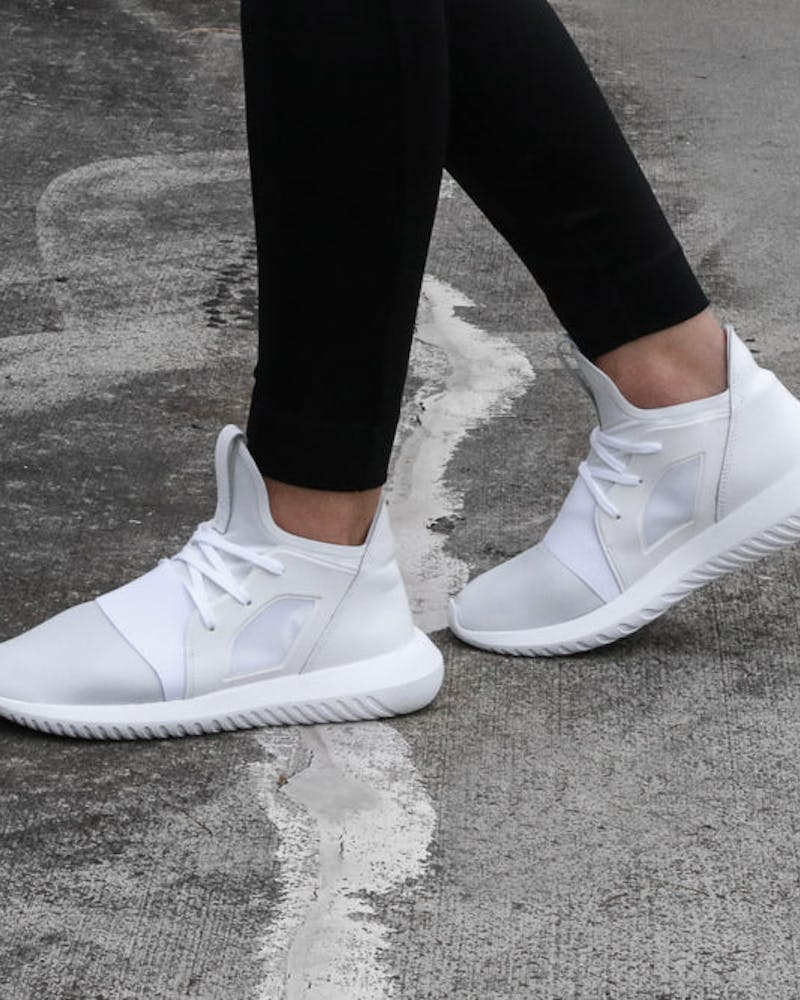 Adidas Originals Women's Tubular Defiant White/White