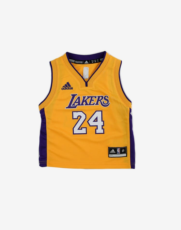 cef72c6f102 Adidas Performance Los Angeles Lakers Kobe Bryant Toddler Jersey '24' Yellow