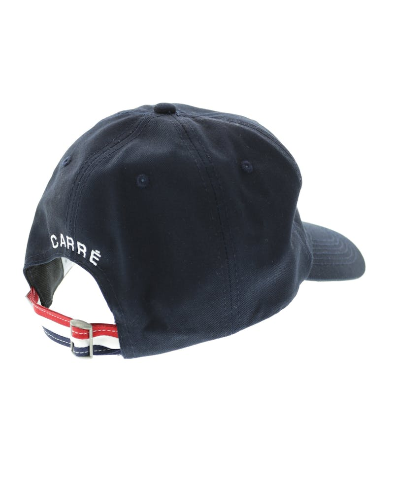 Carre Court Strapback Navy