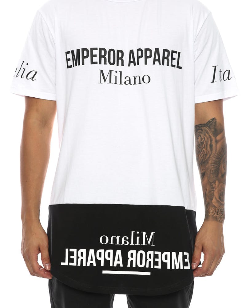 Emperor Apparel Milano Tee White/black