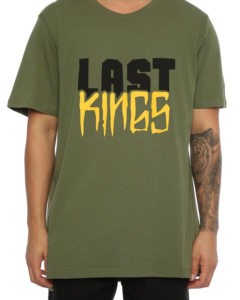 Last Kings Block SS Tee Leaf Green