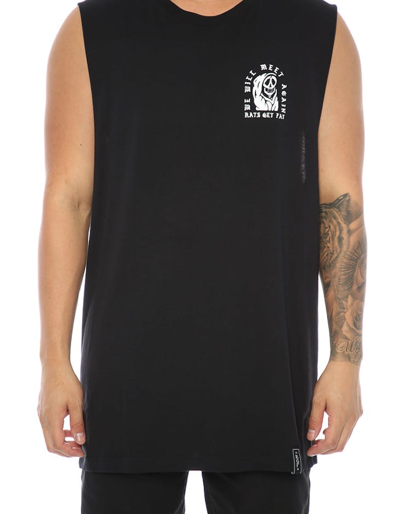 Rats Get Fat See You Soon Muscle Tee Black