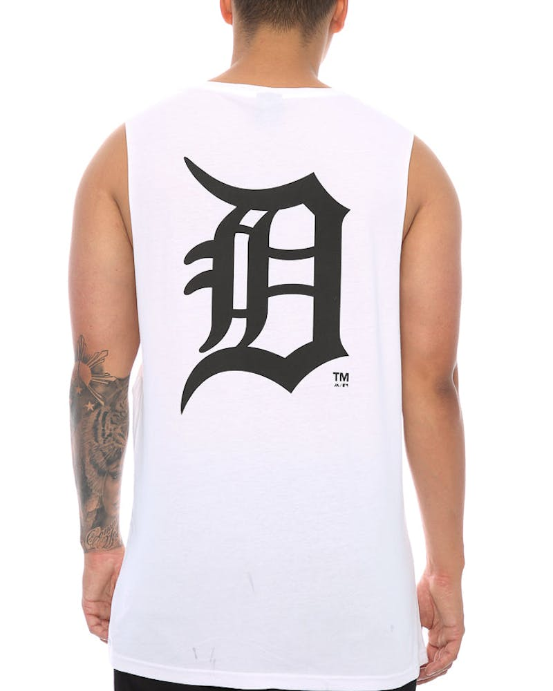 Majestic Athletic Detroit Tigers Draike Muscle Tee White