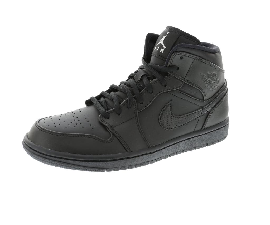 Jordan Air Jordan 1 Mid Black/Black