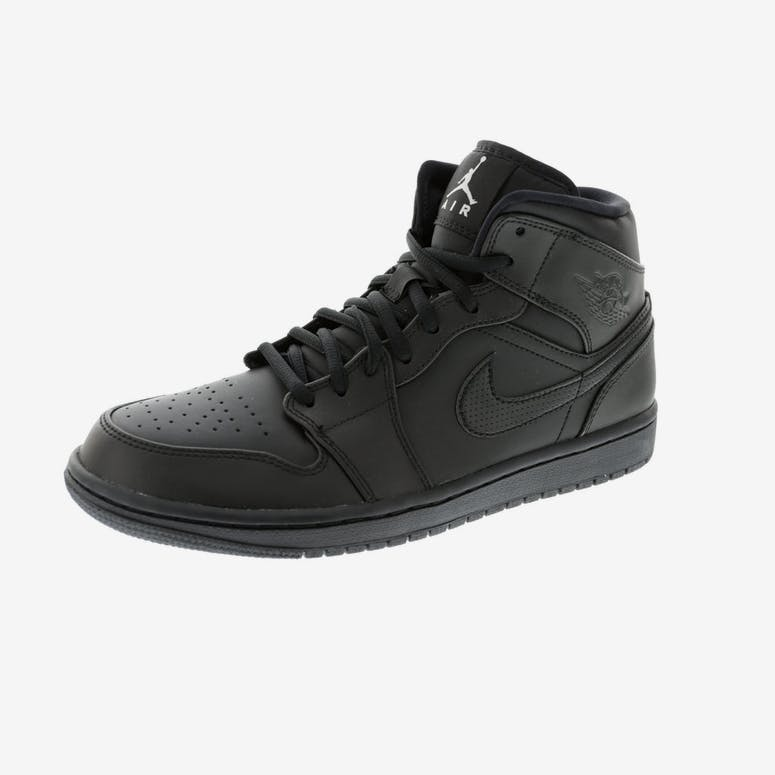 5d5130d34af0 Jordan Air Jordan 1 Mid Black Black