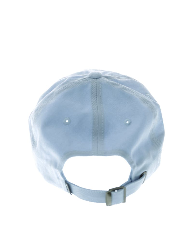 HUF Worldwide UV Curved Strapback Light Blue