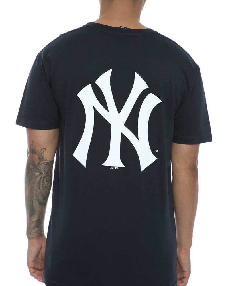 Majestic Athletic Yankees Remic Tee Navy/White