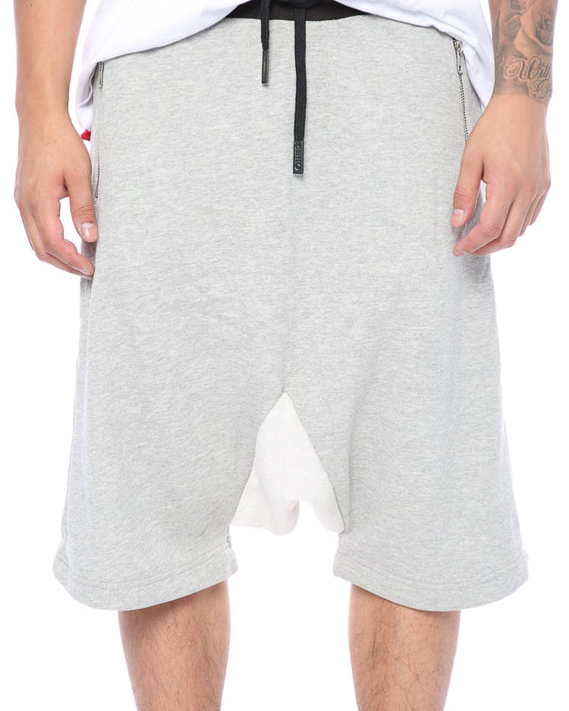 Other UK Clothing Limited Premium Essential Shorts Heather Grey