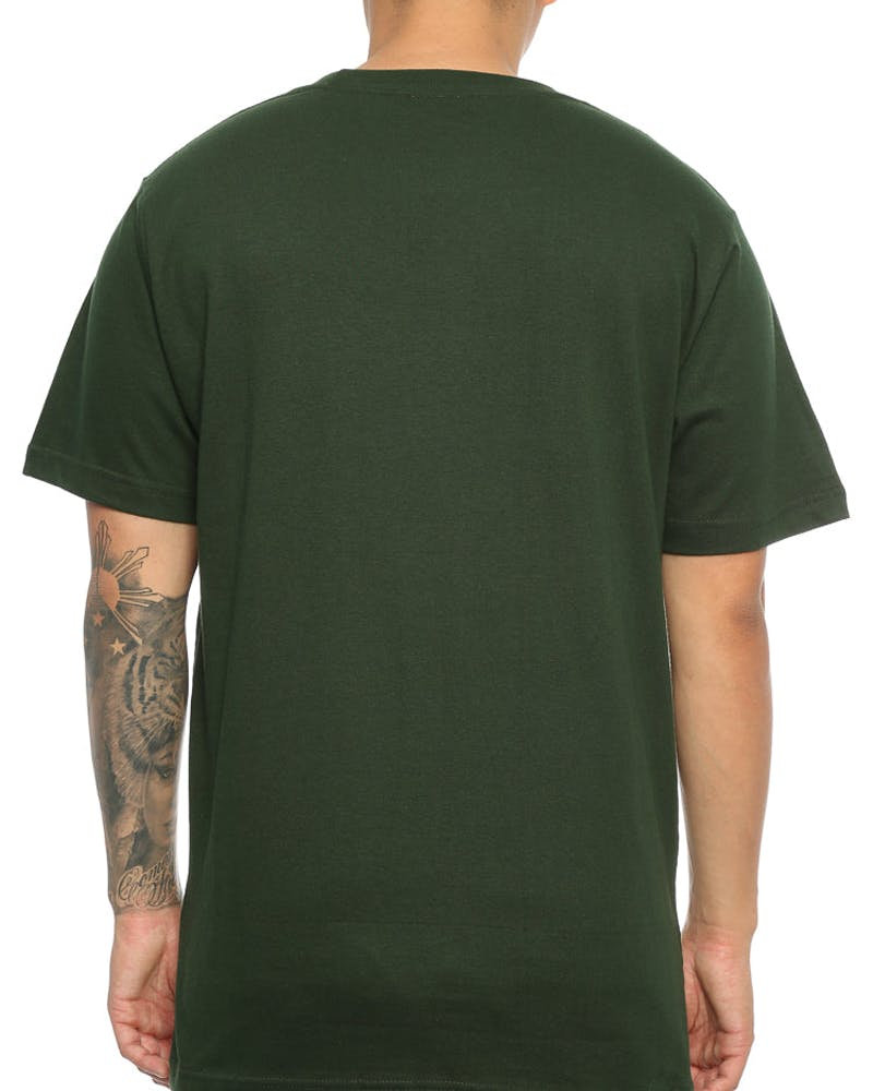 Lower Cloister Puff QRS Tee Forest Green