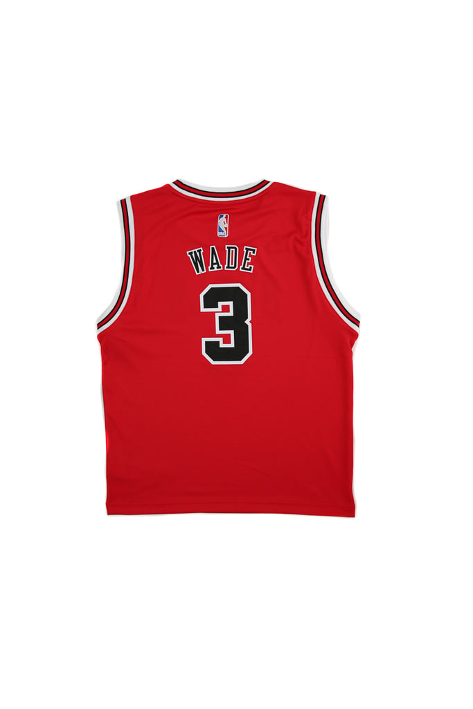 eaf534594 ... spain adidas performance nba chicago bulls dwyane wade youth jersey 3  red 9a6e7 1648a
