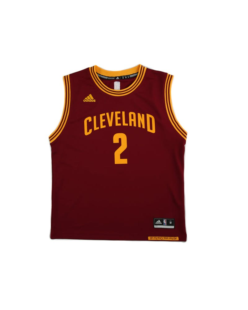 Adidas Performance NBA Cleveland Cavaliers Kyrie Irving Youth Jersey '2' Burgundy