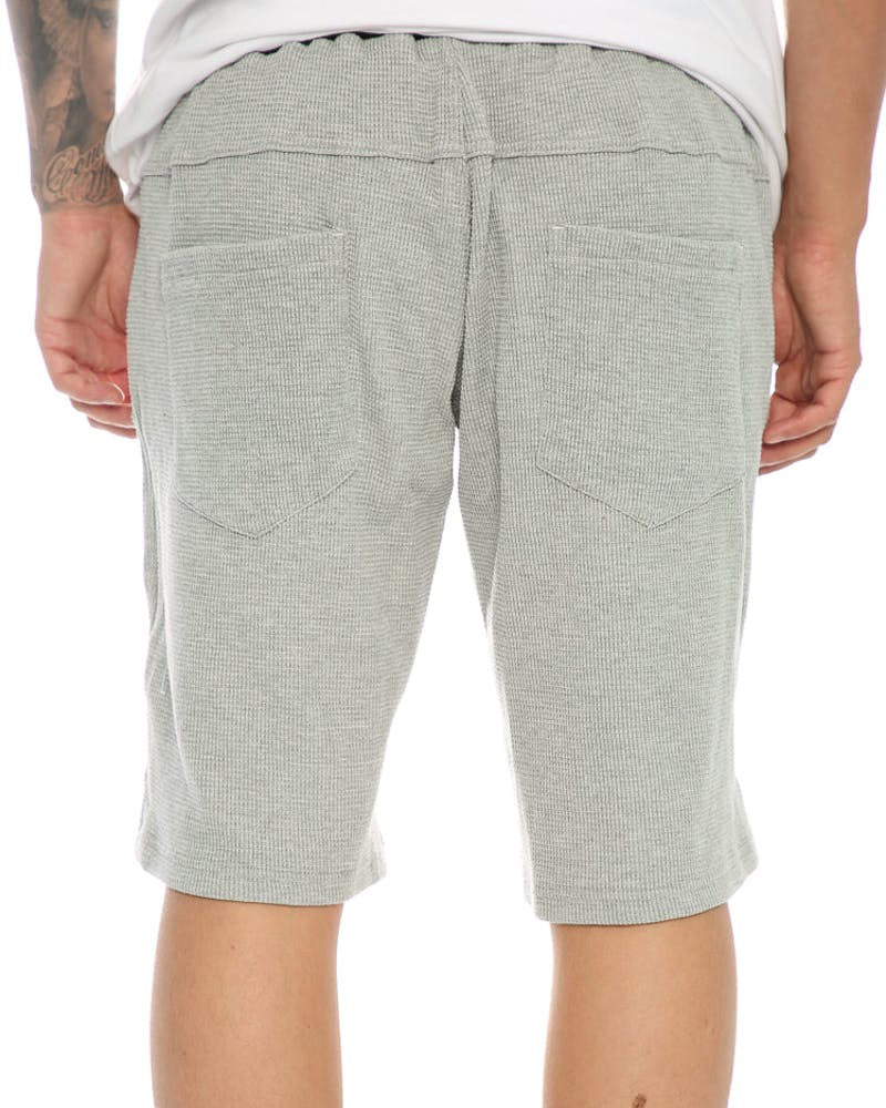 Sly Guild Waffle Knit Track Short Grey