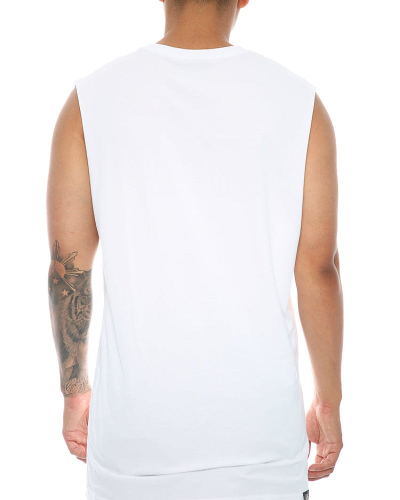 Cole World Muscle Tee White