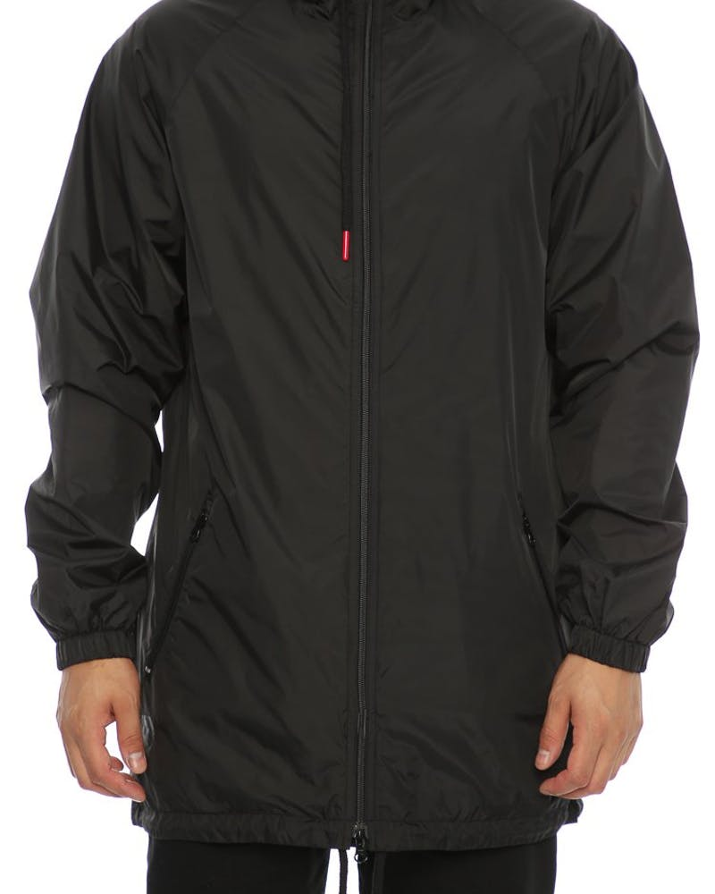 Crooks & Castles Pursuit Hooded Parker Jacket Black