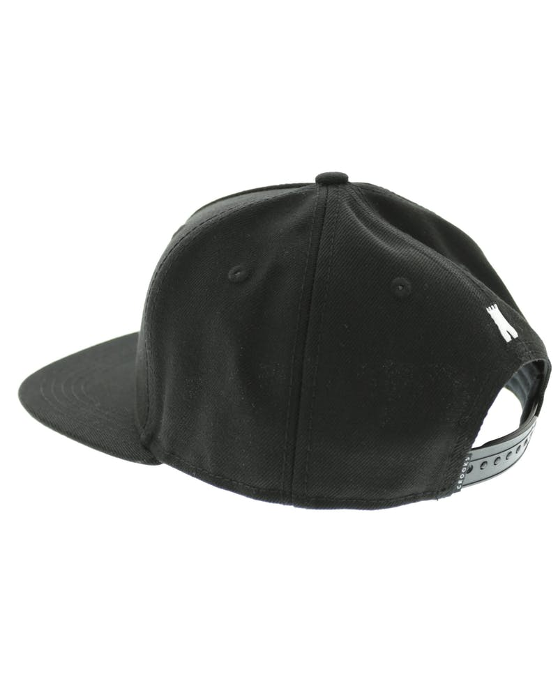 Crooks & Castles Chain C Snapback Black