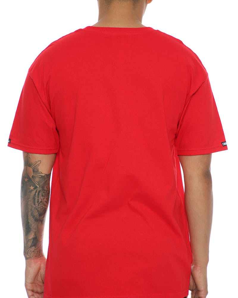 Crooks & Castles Chain A-K Tee Red