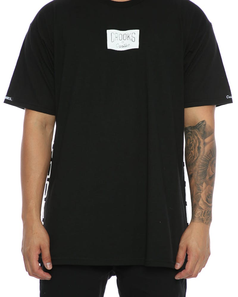 Crooks & Castles Block Patrol Tee Black