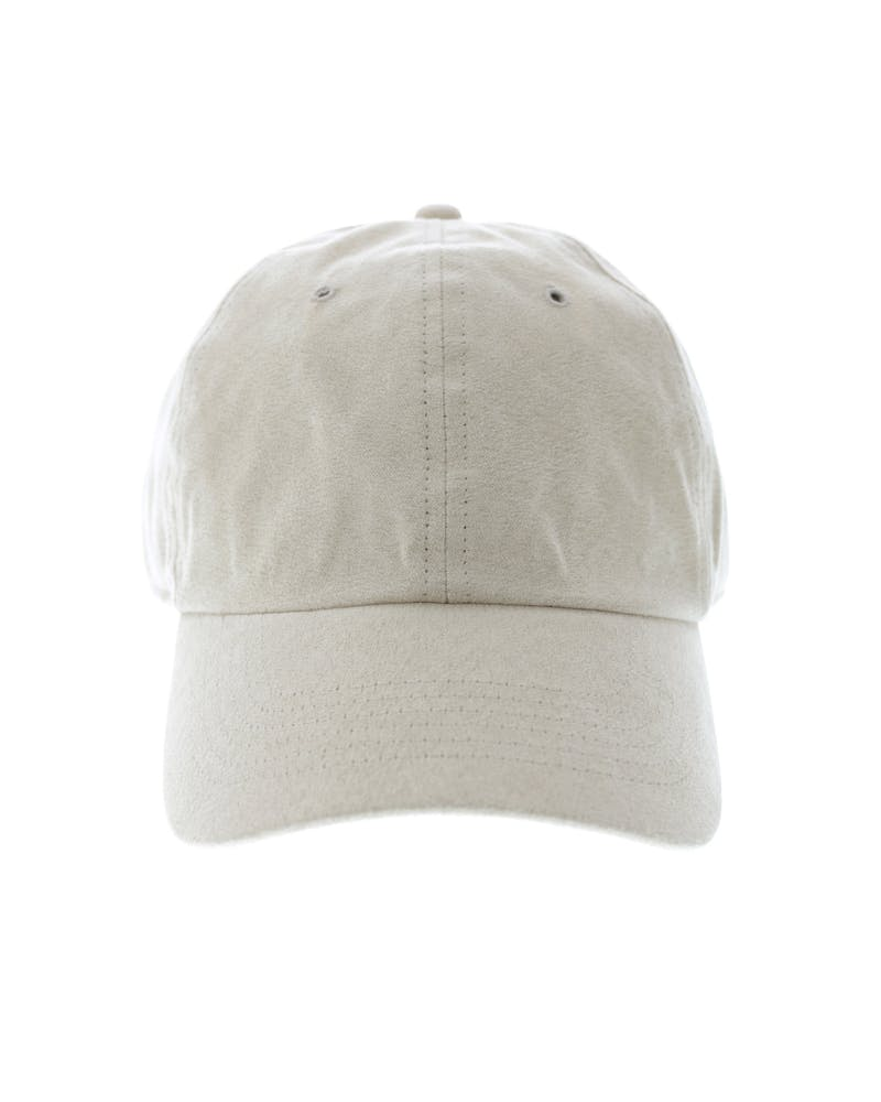 Well Made Take It Slow Suede Strapback Beige