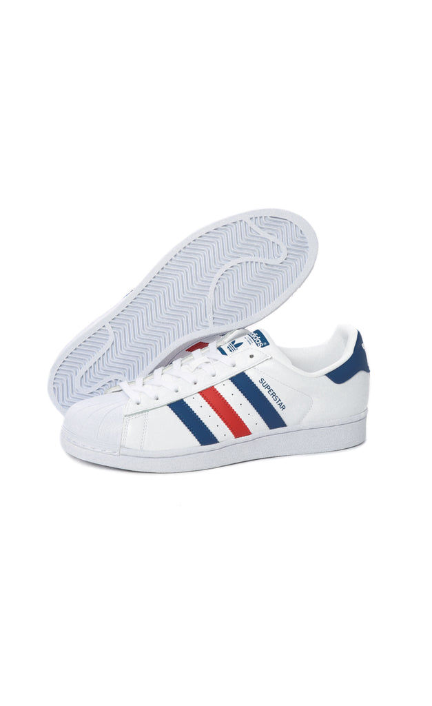 adidas superstar womens rose gold stripe nz