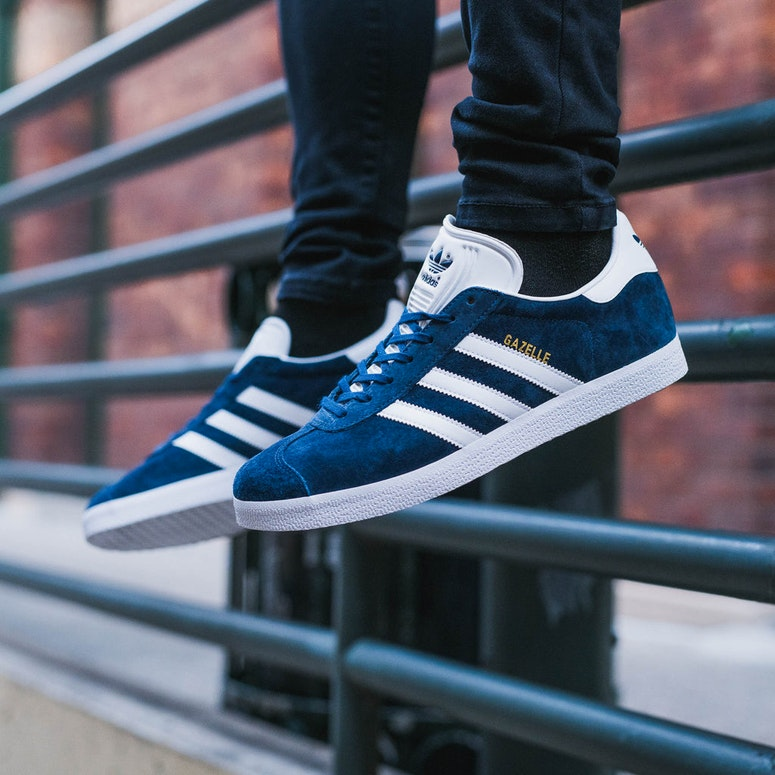 Adidas Originals Gazelle Navy/White