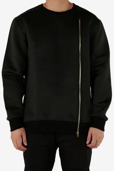 Emperor Apparel Marce Microfleece Crew Black