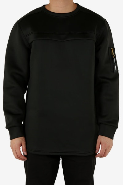 Emperor Apparel Royale Microfleece Crew Black