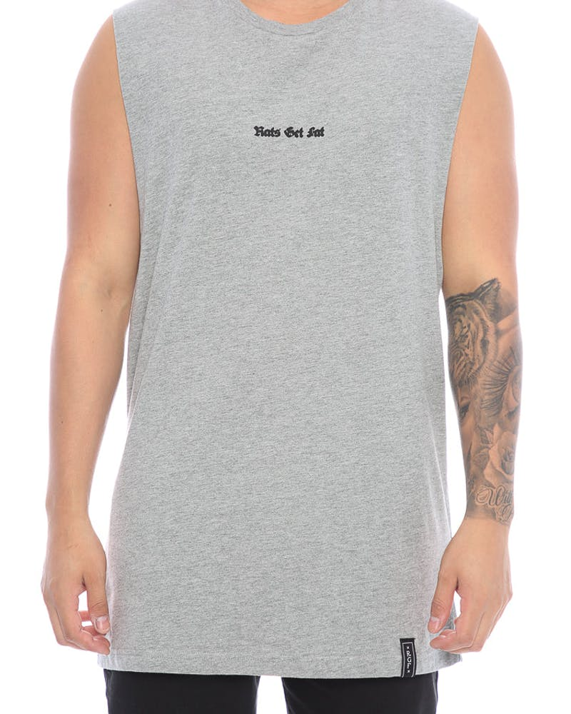 Rats Get Fat Unknown Muscle Tee Grey