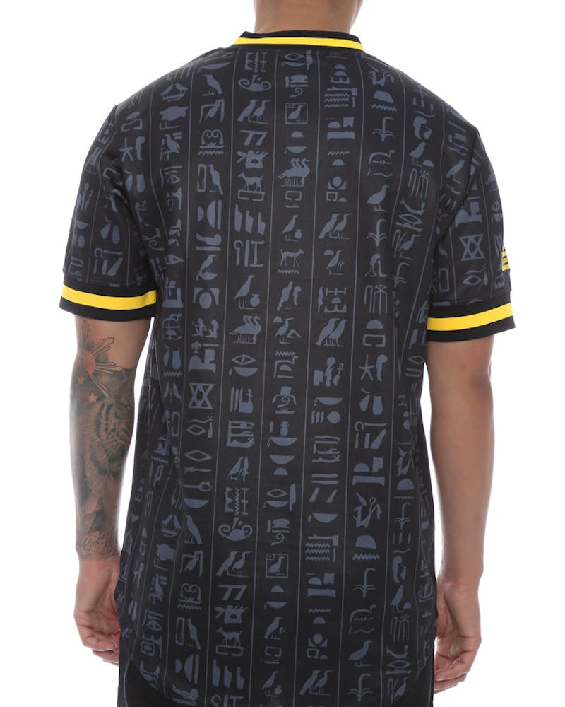 Black Pyramid Anubis Baseball Jersey Black