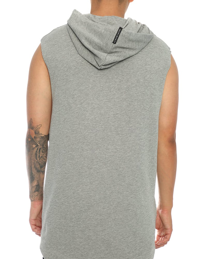 Saint Morta Youth Noise Coven SS Hood Grey