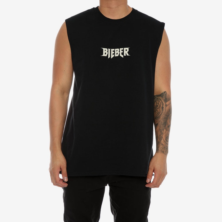 Justin Bieber Purpose Tour Sorry Muscle Tee Black