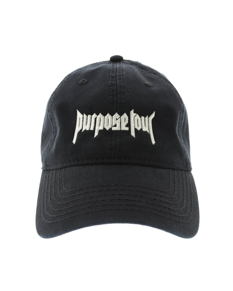 Justin Bieber Purpose Tour Strapback Black
