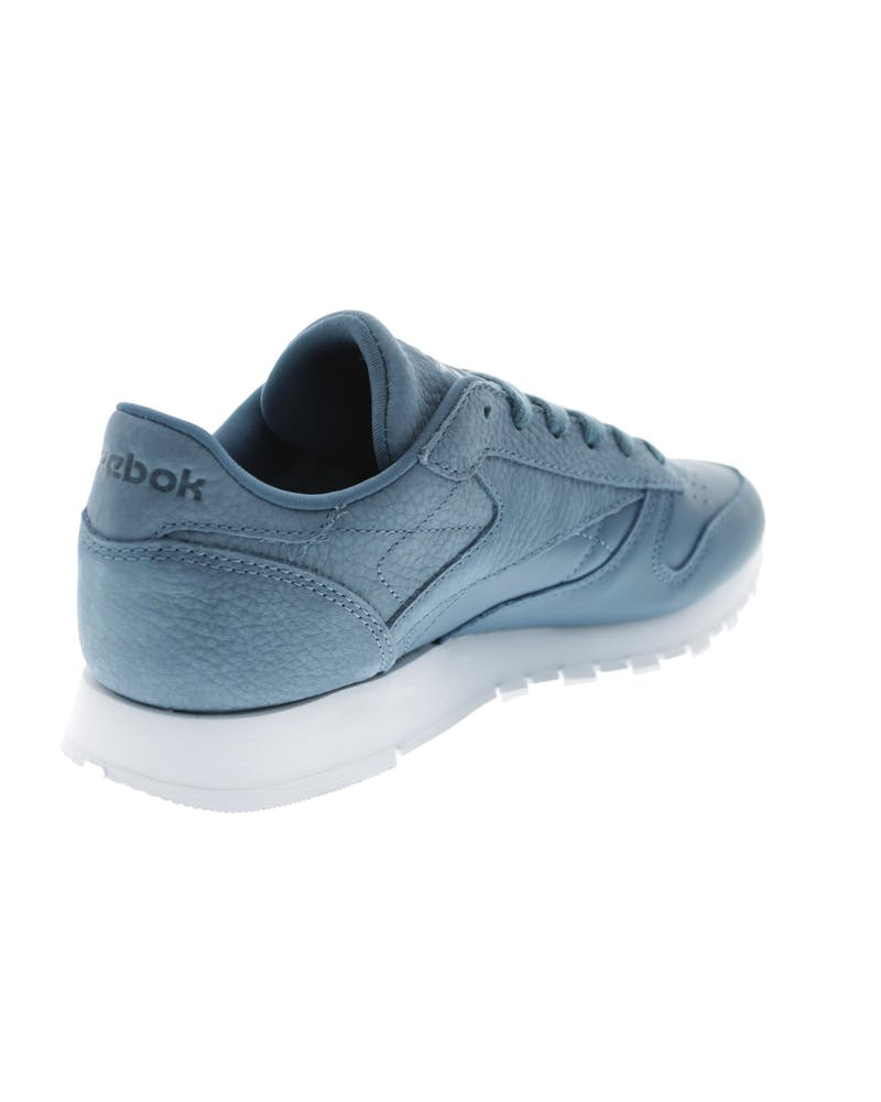 Reebok Women's CL Leather Sea You Later Navy/White