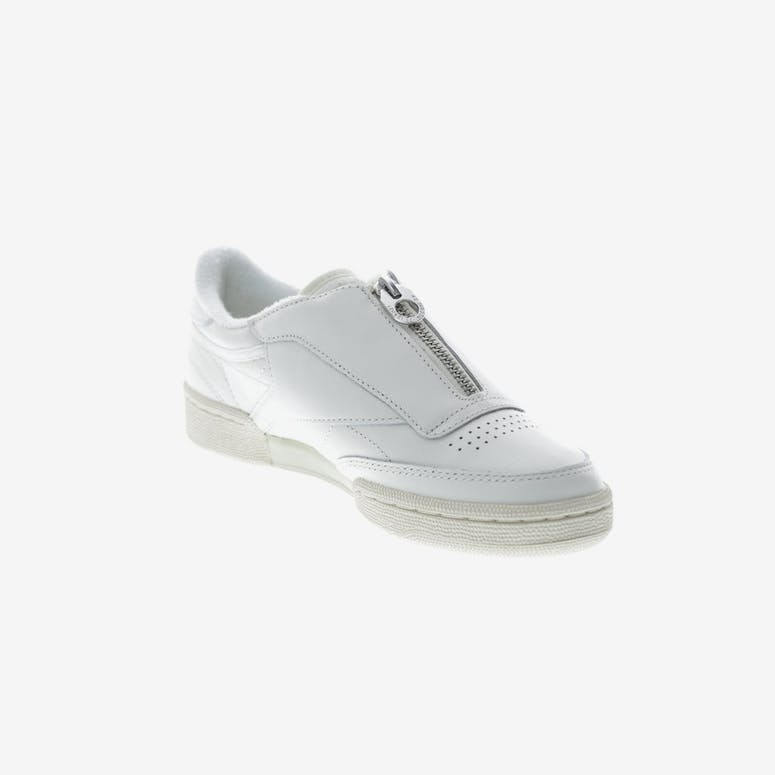 4ad95d6bcad Reebok Women s Club C 85 Zip Off White White