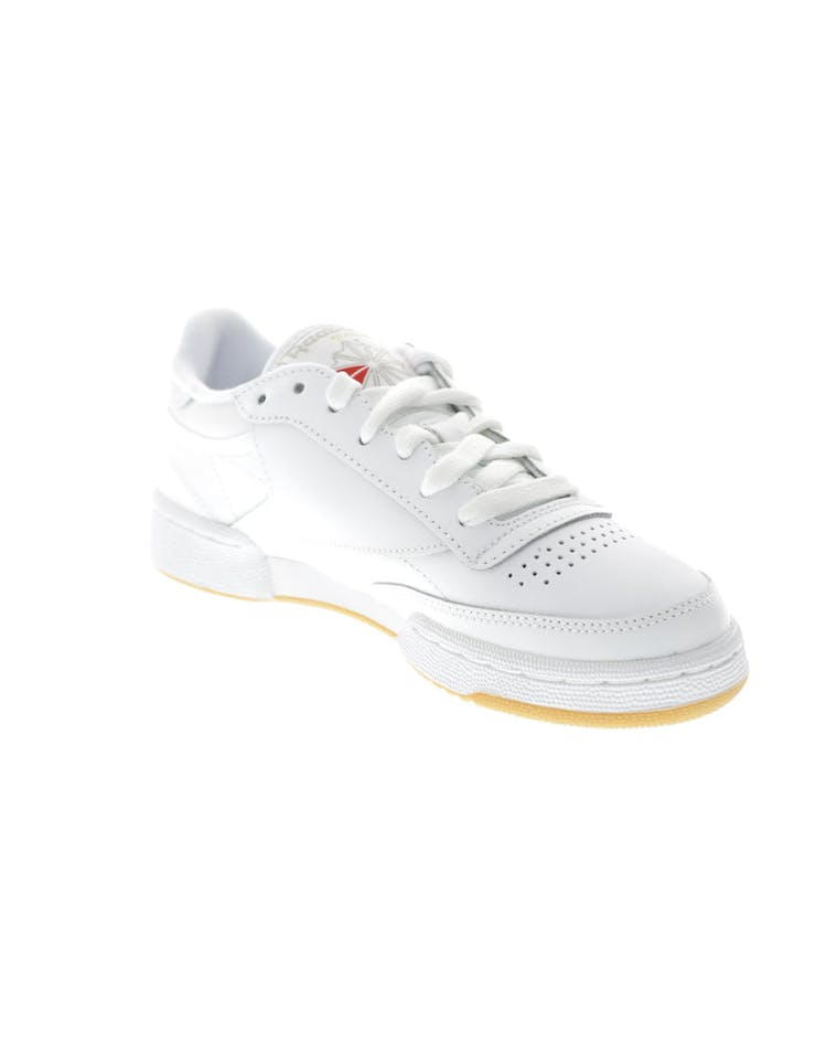 6d053bf5e70 Reebok Women s Club C 85 White Grey Gum