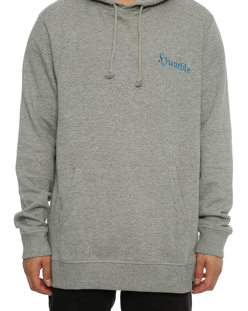 Goat Crew Humble Embroidered Hood Grey