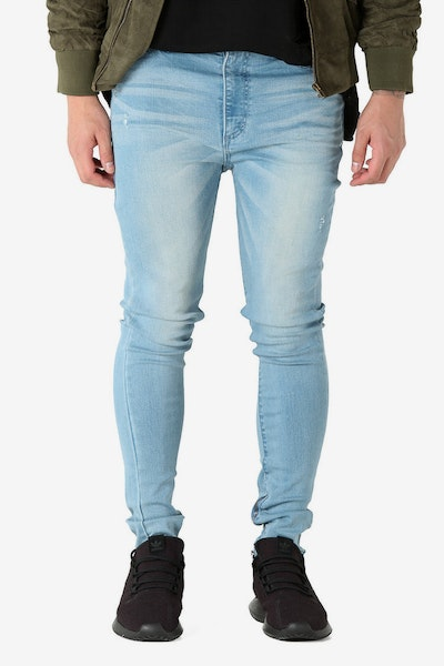 Saint Morta SM Slasher S Skinny Jean Vintage Blue Wash