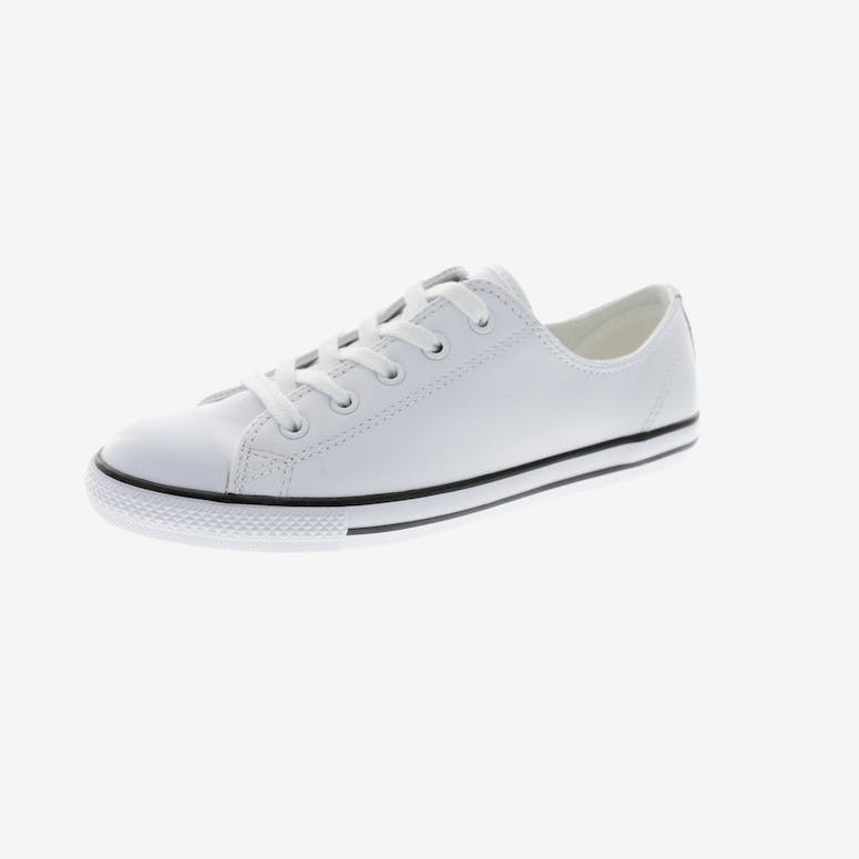 Converse Women s Dainty Leather White  76dad8705